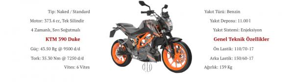 KTM 390 Duke (2013 - 2016) - Motodeks
