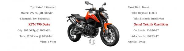 KTM 790 Duke (2018 - XXXX) - Motodeks