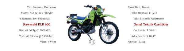 Kawasaki KLR 600 (1984 - 1988) - Motodeks