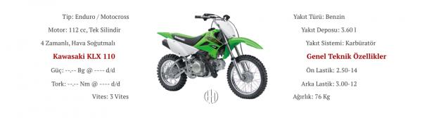 Kawasaki KLX 110 (2012 - 2019) - Motodeks