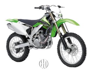 Kawasaki KLX 450 R (2008 - XXXX) - Motodeks