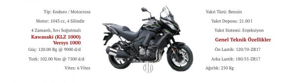 Kawasaki (KLZ 1000) Versys 1000 (2015 - 2018) - Motodeks