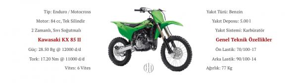 Kawasaki KX 85 II (2012 - XXXX) - Motodeks