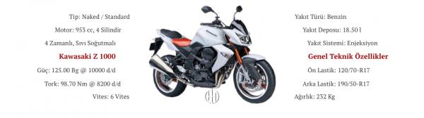 Kawasaki Z 1000 (2007 - 2009) - Motodeks