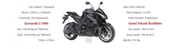 Kawasaki Z 1000 (2010 - 2013) - Motodeks