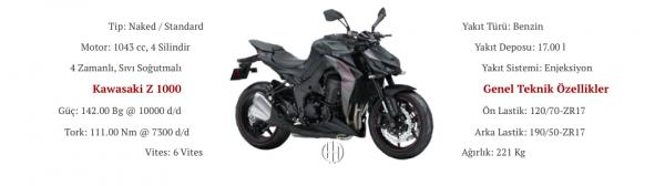 Kawasaki Z 1000 (2014 - XXXX) - Motodeks