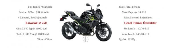 Kawasaki Z 250 (2019 - XXXX) - Motodeks