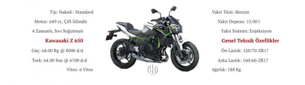 Kawasaki Z 650 (2017 - XXXX) - Motodeks