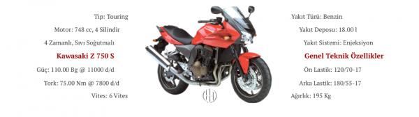Kawasaki Z 750 S (2005 - 2006) - Motodeks