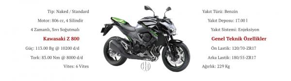 Kawasaki Z 800 (2013 - 2016) - Motodeks