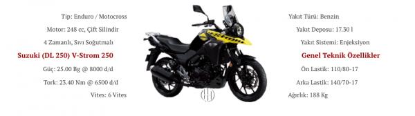 Suzuki (DL 250) V-Strom 250 (2017 - XXXX) - Motodeks