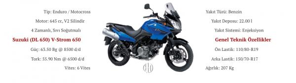 Suzuki (DL 650) V-Strom 650 (2004 - 2011) - Motodeks