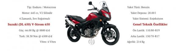Suzuki (DL 650) V-Strom 650 (2012 - 2016) - Motodeks
