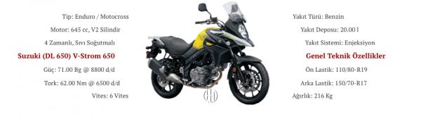 Suzuki (DL 650) V-Strom 650 (2017 - XXXX) - Motodeks