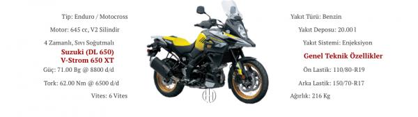 Suzuki (DL 650) V-Strom 650 XT (2017 - XXXX) - Motodeks
