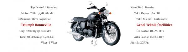 Triumph Bonneville (2001 - 2006) - Motodeks