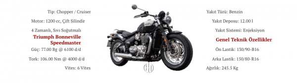 Triumph Bonneville Speedmaster (2018 - XXXX) - Motodeks