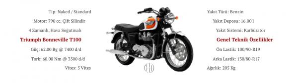 Triumph Bonneville T100 (2003 - 2006) - Motodeks
