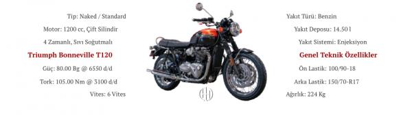 Triumph Bonneville T120 (2017 - XXXX) - Motodeks