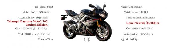 Triumph Daytona Moto2 765 Limited Edition (2020 - XXXX) - Motodeks