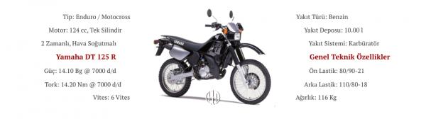 Yamaha DT 125 R (1991 - 2002) - Motodeks