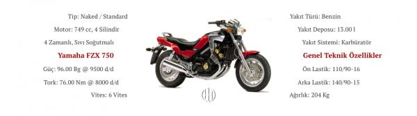 Yamaha FZX 750 (1986 - 2000) - Motodeks