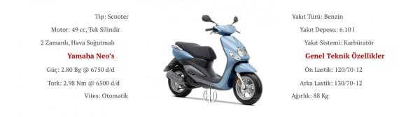 Yamaha Neo's (2006 - 2016) - Motodeks