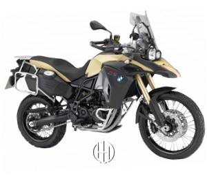 BMW F 800 GS Adventure (2014 - 2018) - Motodeks