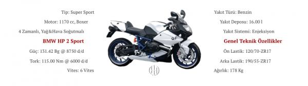 BMW HP 2 Sport (2008 - 2012) - Motodeks