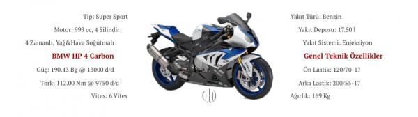 BMW HP 4 Carbon (2014 - 2015) - Motodeks