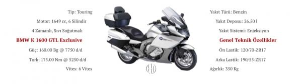 BMW K 1600 GTL Exclusive (2014 - 2018) - Motodeks