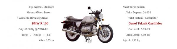 BMW R 100 (1980 - 1984) - Motodeks