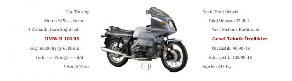 BMW R 100 RS (1976 - 1984) - Motodeks