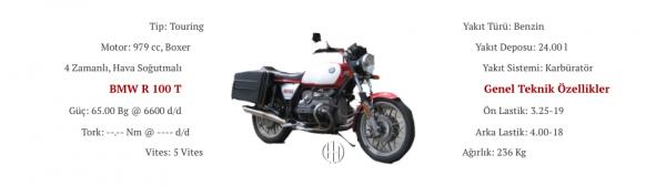 BMW R 100 T (1978 - 1980) - Motodeks