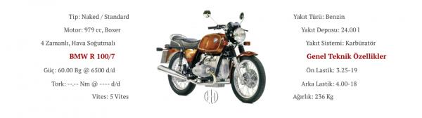 BMW R 100:7 (1976 - 1980) - Motodeks