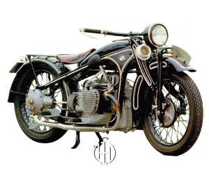 BMW R 11 (1929 - 1934) - Motodeks