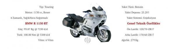 BMW R 1150 RT (2001 - 2005) - Motodeks
