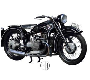 BMW R 12 Çift Karb. (1935 - 1942) - Motodeks