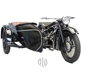 BMW R 12 Tek Karb. (1935 - 1942) - Motodeks
