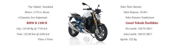 BMW R 1200 R (2008 - 2019) - Motodeks