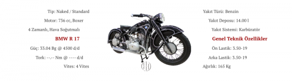BMW R 17 (1935 - 1937) - Motodeks