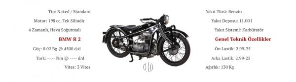 BMW R 2 (1931 - 1936) - Motodeks