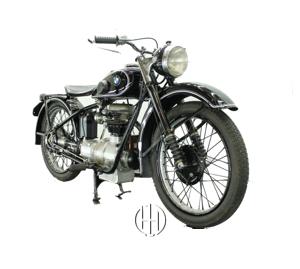 BMW R 23 (1938 - 1940) - Motodeks