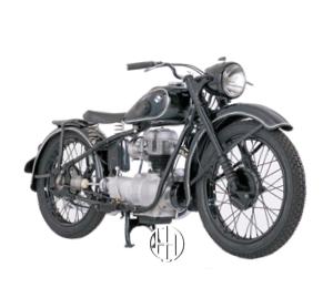 BMW R 24 (1948 - 1950) - Motodeks