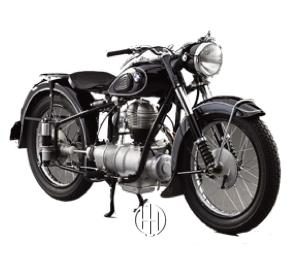 BMW R 25 (1950 - 1951) - Motodeks