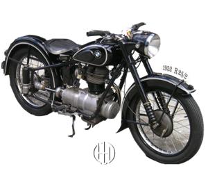 BMW R 25:2 (1951 - 1953) - Motodeks