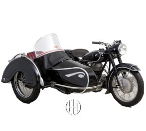 BMW R 25:3 (1953 - 1956) - Motodeks