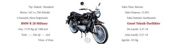 BMW R 28 Military (1964) - Motodeks