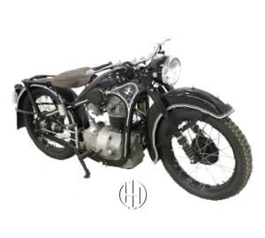 BMW R 35 (1937 - 1940) - Motodeks