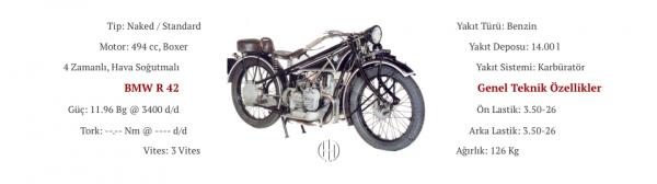 BMW R 42 (1926 - 1928) - Motodeks